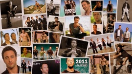 alex oloughlin! collage